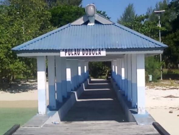 Menuju Ke Wisata Pulau Dodola Di Pulau Morotai Maluku