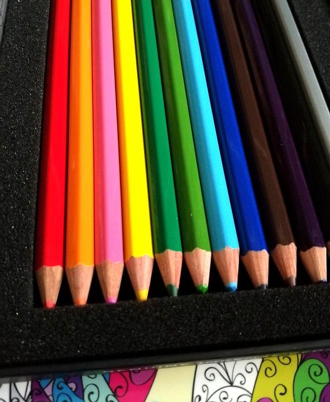 Blackwing coloring pencils