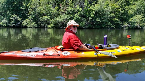Tom on Lake Oolenoy