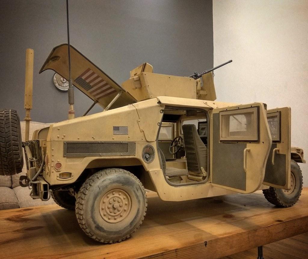 "Special Ops Truck >> Modern War (1990s to Present) Castlebrimstone's Custom ""Special Ops Humvee"" HMMWV M1114"