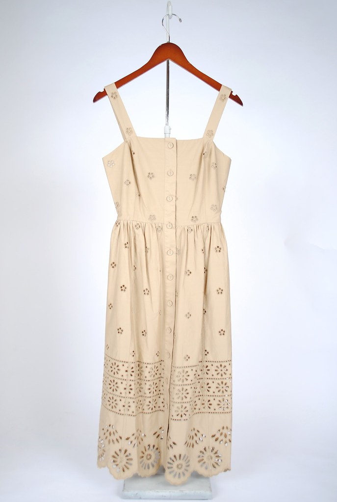 Exploded Eyelet Sundress