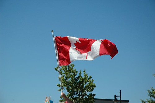 Canada Day Parade / Sidney Days Parade - Canada Flag | by Cindy Andrie