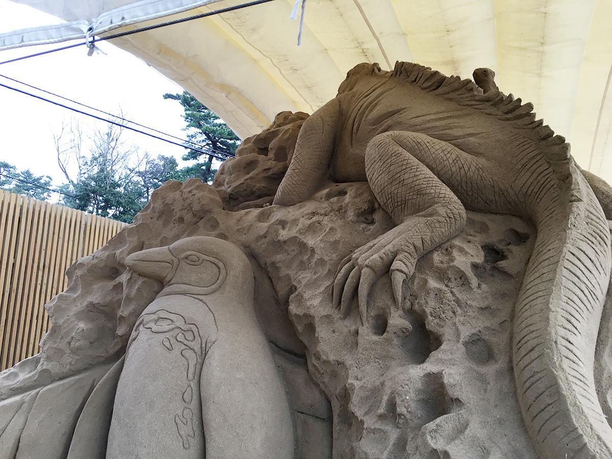 鳥取砂丘の砂の美術館に行ってきた。