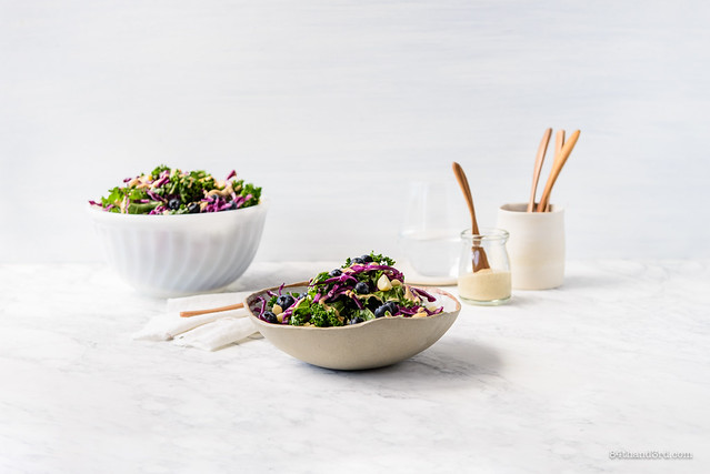 Kale Blueberry Salad