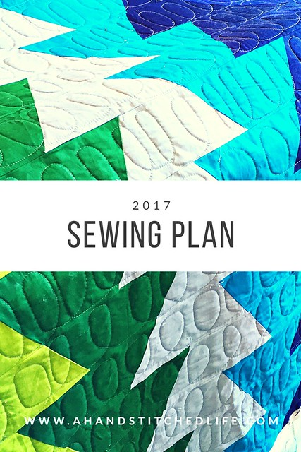 2017 Sewing Plan