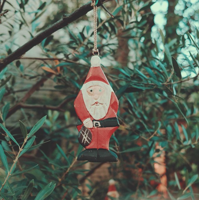 Mini santa decoration