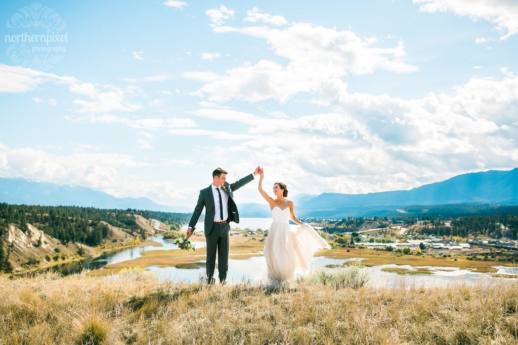 Invermere British Columbia Wedding Eagle Ranch Resort Venue BC