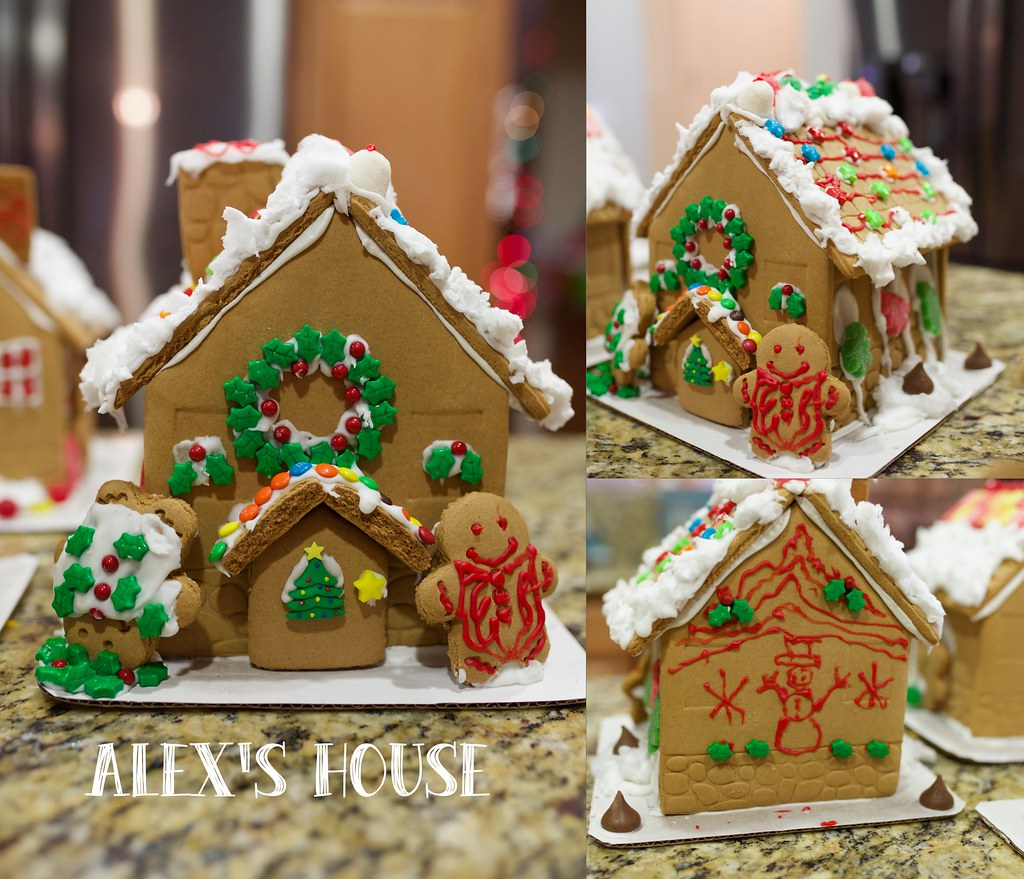Gingerbread house-A