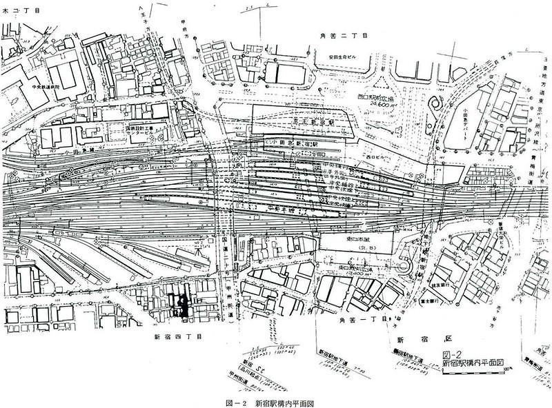 大新宿構想時代の上越新幹線新宿駅地下ホーム (5)