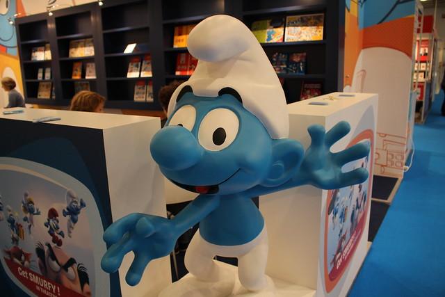 The Smurfs - Les Schtroumpfs - Frankfurt Buchmesse 2015