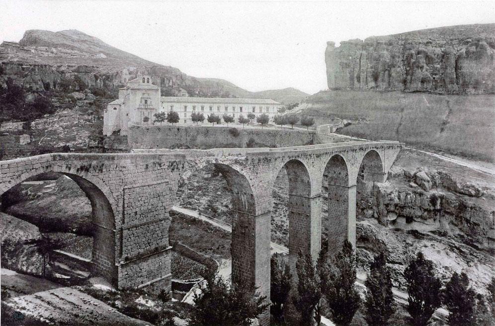 vía foto histórica de cuenca