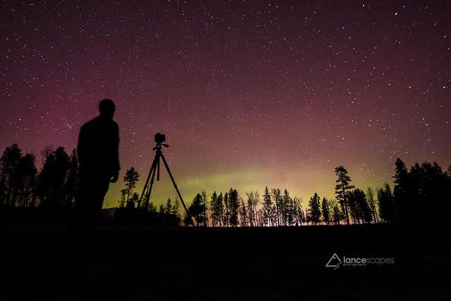Aurora over Idaho