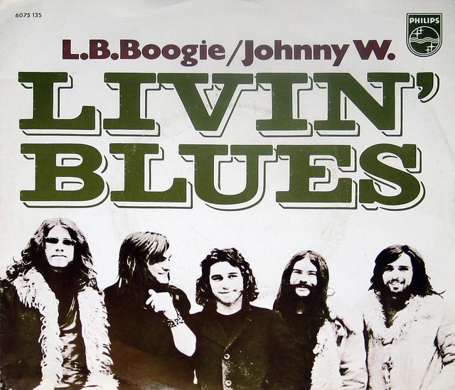 LIVIN' BLUES - L.B. Boogie / Johnny W.