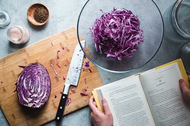 Purple Sauerkraut, Cooked by Michael Pollan | Will Cook For Friends