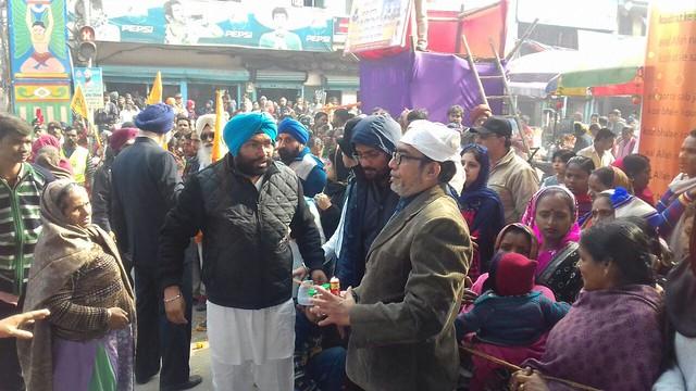 Sikh pilgrims to Patna on the occasion of Prakash Utsav