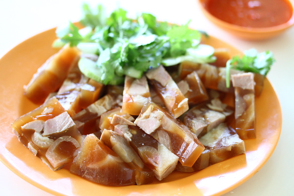 Berseh Food Centre: Lao Liang Pork Jelly