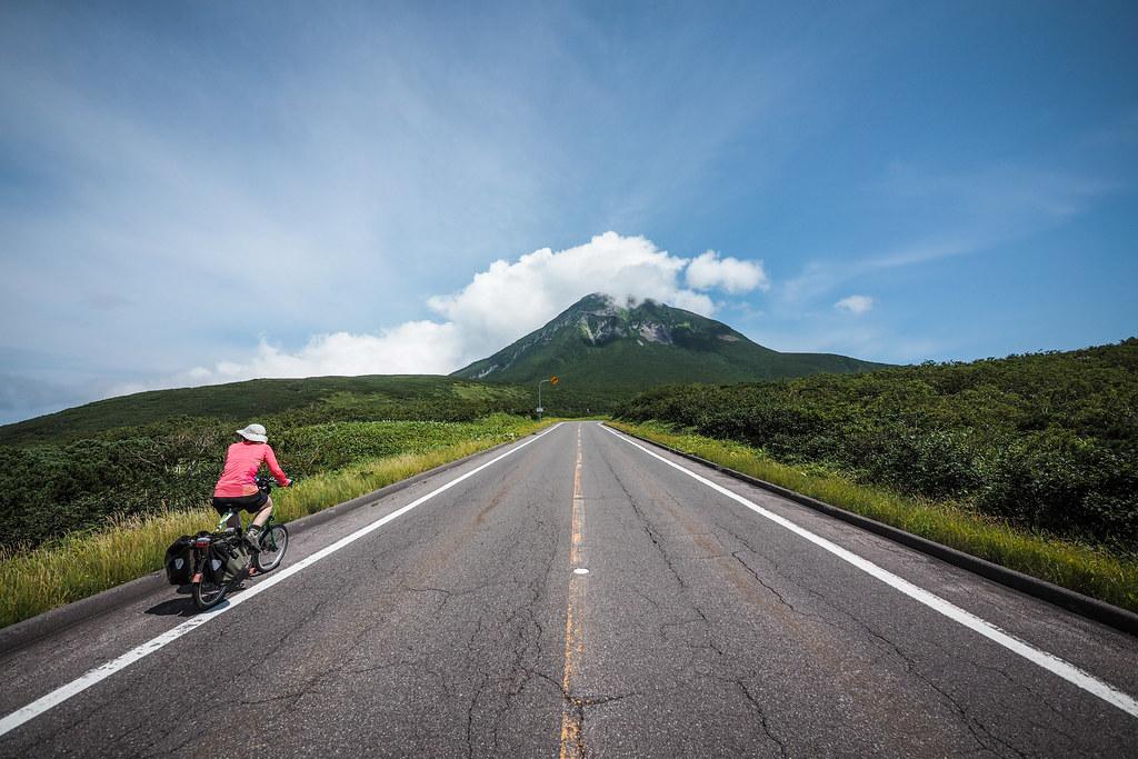 Camper-cycle hybrid tour of eastern Hokkaido, Japan
