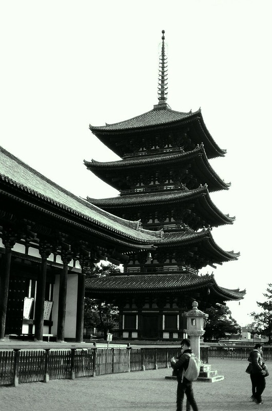 The Pagoda of Kofukuji Temple