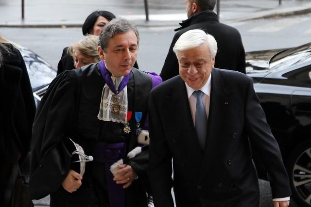 Doctorat Honoris Cause de Prokopis Pavlopoulos, Président de la République hellénique