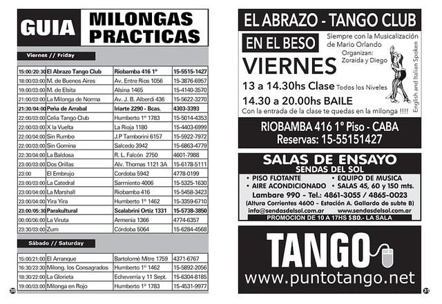 Revista Punto Tango 122 Diciembre 2016 - 16