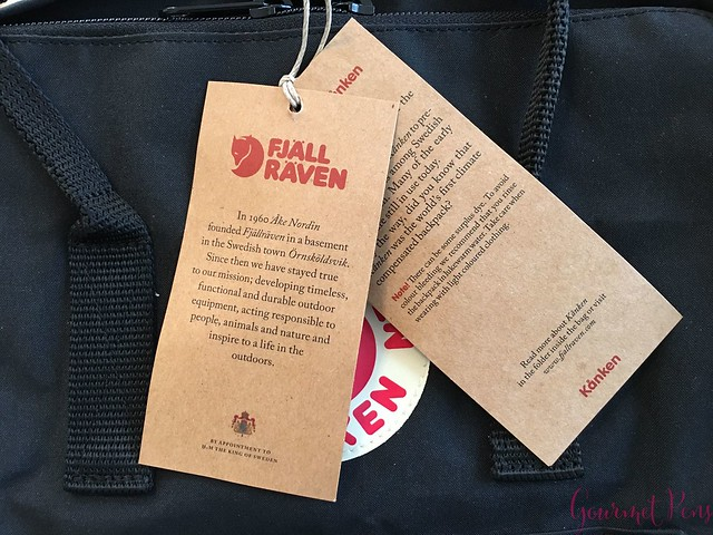 Review Fjällräven Kånken Backpack @BureauDirect @Fjallraven_Swe 1
