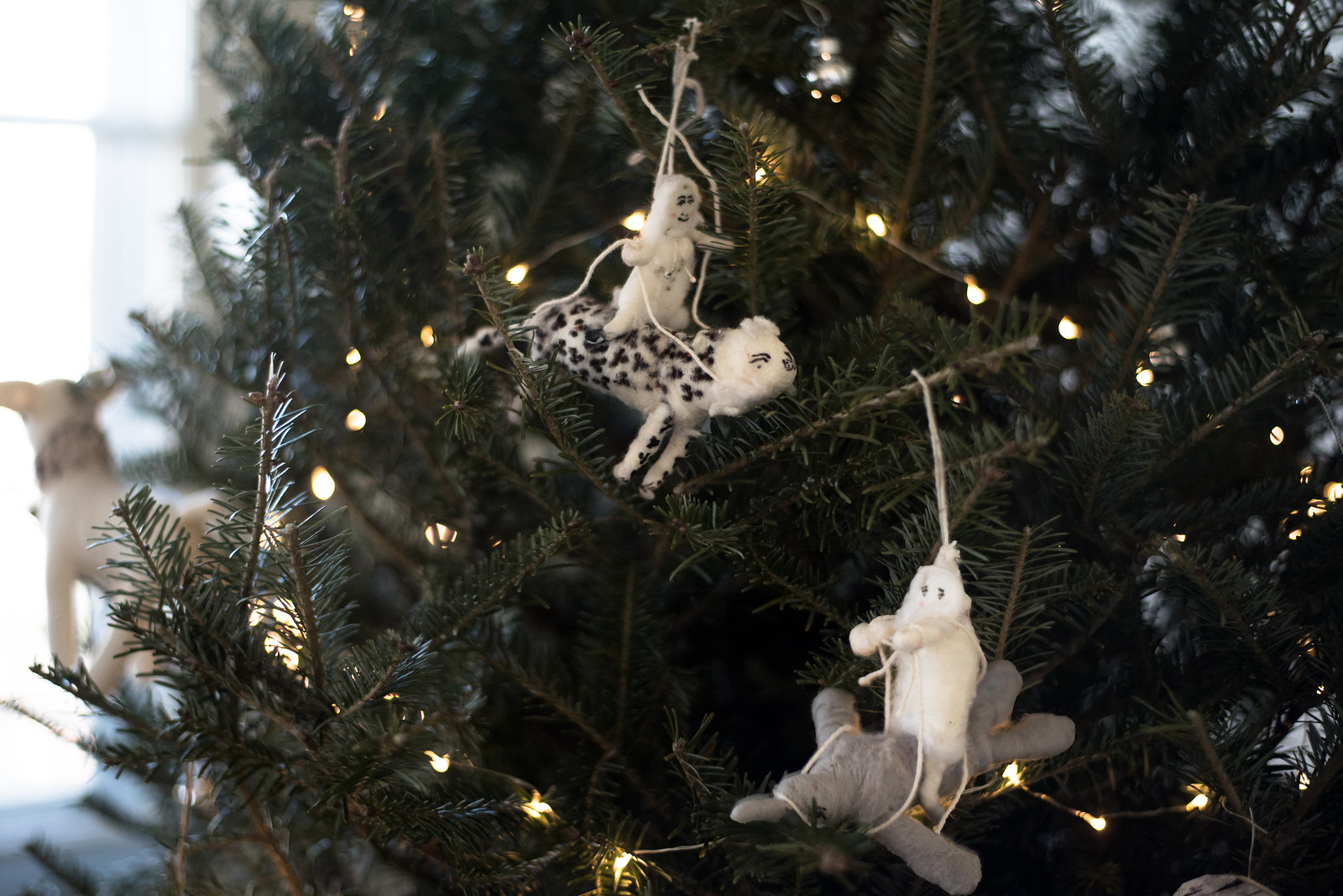 Arctic Explorer Ornaments by Vintage by Crystals for Anthropologie on juliettelaura.blogspot.com