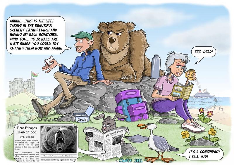 Harlech Bear