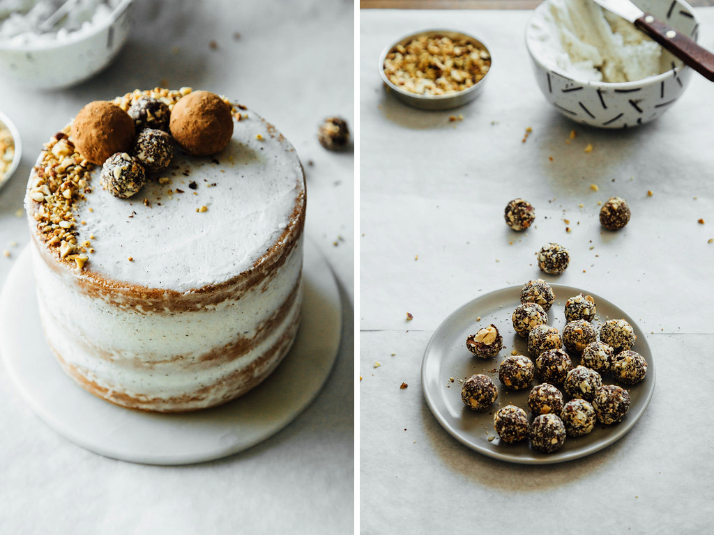 Hazelnut crunch cake