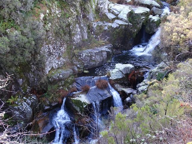 Cascada en el río Mao en Parada de Sil