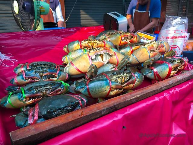 Thai Seafood Vermicelli Crabs- Somsak Boo Op