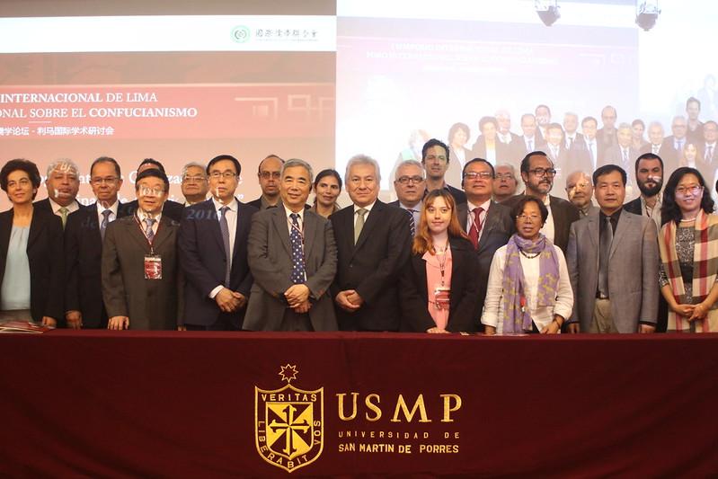 I Simposio Internacional sobre el Confucianismo: Diálogos entre las Civilizaciones de China y de América Latina se desarrolló en la USMP