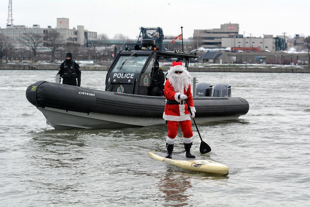 Surfing Santa 2016