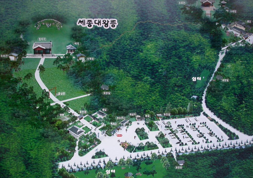 Yeongneung map