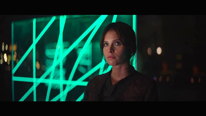 Felicity Jones takes on a key role in the beginning of the defeat of the Empire in ROGUE ONE.
