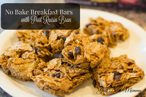No Bake Breakfast Bars