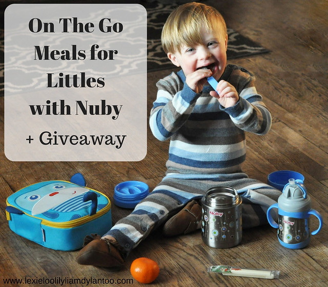 On The Go Meals for Littles with Nuby