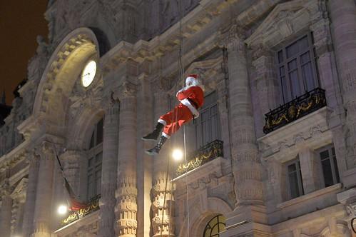 Le Père Noël à Roubaix