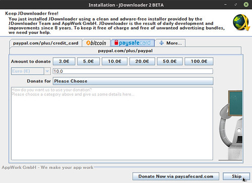 Installation - JDownloader 2 BETA_012