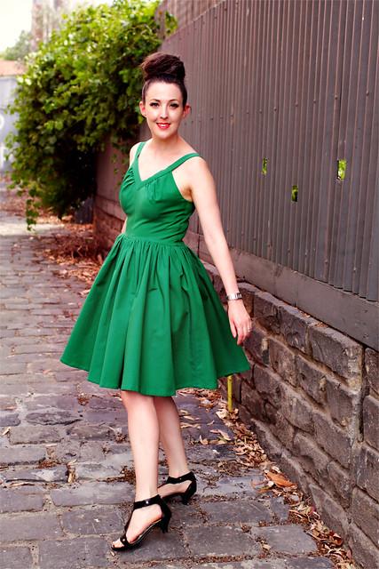 Vintage Green McCalls #4