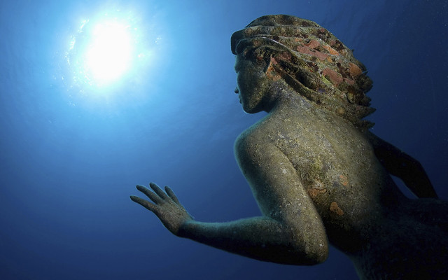 """Amphitrite,"" by Simon Morris, off Grand Cayman, Cayman Islands"