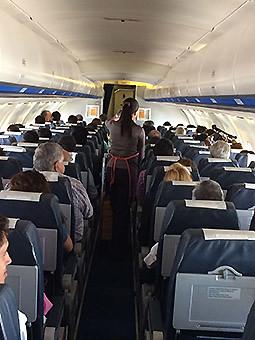 Aerovías DAP interior pasajeros BAE146 (DAP)