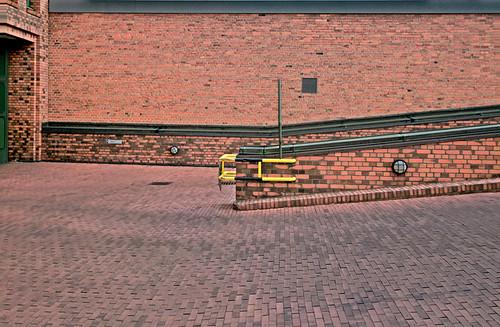 All Brick Parking Lot Neuer Posthof The Original Red