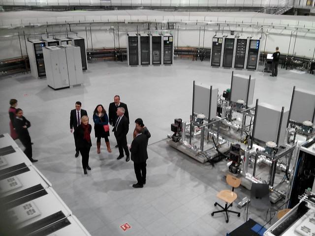 Visite du synchrotron - Małopolska