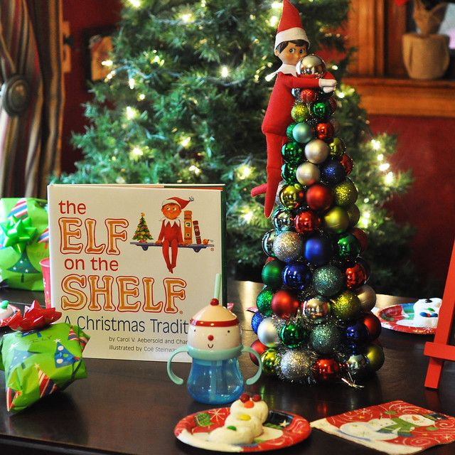 Elf on the Shelf arrival breakfast