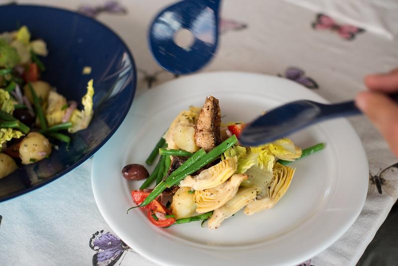 02 salad nicoice with mackerel