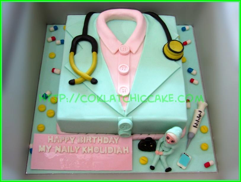 cake Baju dokter