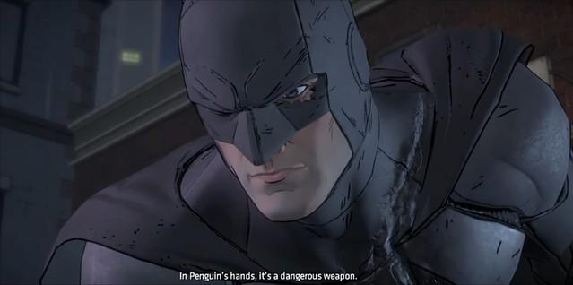 Batman: The Telltale Series Episode 5 - Damaged Armor