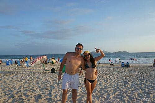 Playa de Ipanema Arelis Yo