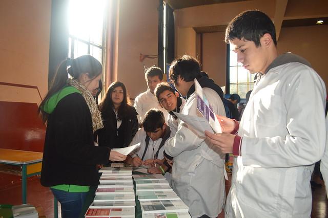 II Feria vocacional estudiantil.