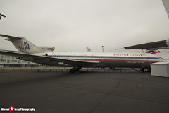 N874AA - 21386 1333 - American Airlines - Boeing 727-223ADV - The Museum Of Flight - Seattle, Washington - 131021 - Steven Gray - IMG_3666